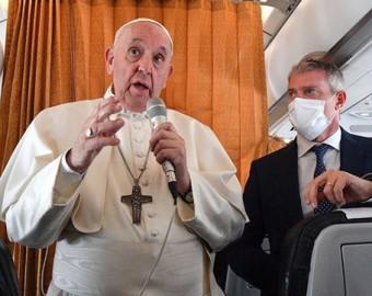"""El papa Francisco volvió a defender a las vacunas contra el COVID-19: """"De niños nos ponían y nadie decía ni mu"""""""