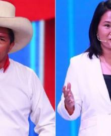 Pedro Castillo lidera con 42% la intención de voto y Keiko Fujimori alcanza 31%