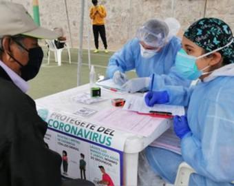 Perú llega a 960 368 casos de la COVID-19 y a 35 879 fallecidos