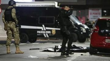 Brasil: un muerto dejó asalto de 20 delincuentes a un banco
