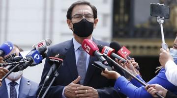 Martín Vizcarra se acogió al derecho de guardar silencio en la sesión de Fiscalización