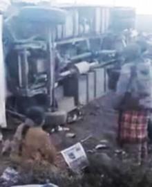 Arequipa: al menos siete muertos, entre ellos un niño, tras triple choque en carretera