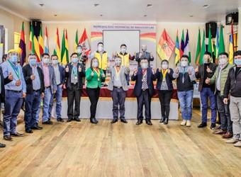 Alcaldes de Andahuaylas unen esfuerzos y recursos para adquirir planta de oxígeno medicinal