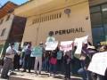Cusco: bloquean vías de tren a Machu Picchu por elevado costo de pasajes