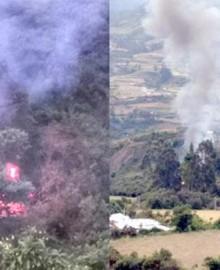 Cusco: confirman que camión que cayó a barranco trasladaba balones de oxígeno para pacientes COVID-19