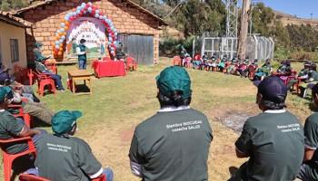 Escuelas de campo del Senasa capacitaron a productores de papa, quinua, maíz de zonas altas