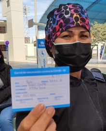 Tacna: inician aplicación de tercera dosis a personal de salud contra la Covid-19