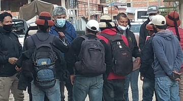 Comitiva de avanzada de la PCM tuvo primer encuentro con dirigentes de Challhuahuacho