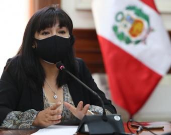 Mirtha Vásquez: adoptaremos medidas para evitar el quiebre del Estado de derecho