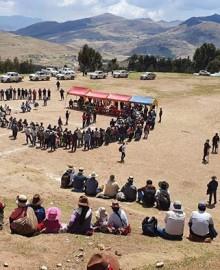 Se inicia paro indefinido y bloqueo de corredor minero en Cotabambas