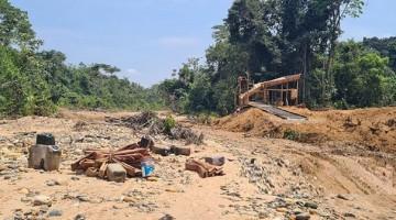 Madre de Dios: destruyen maquinaria destinada a la minería ilegal en comunidad nativa de Kotsimba