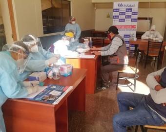 EsSalud Apurímac aplica pruebas gratuitas de Covid-19 en Cotabambas