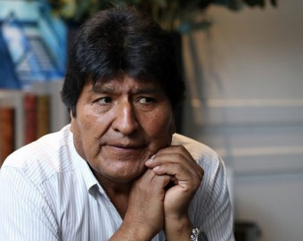 Evo Morales dejó la Argentina con destino a Venezuela