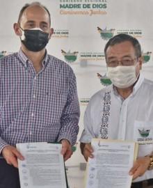 Madre de Dios: Gobierno regional firma convenio para promover y fomentar los negocios sostenibles