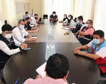Ica: Minsa y gobernador se reunieron para prever acciones ante incremento de casos Covid-19