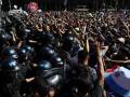 Incidentes en despedida a Diego Armando Maradona por cierre de fila