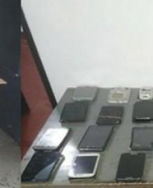Interceptan encomienda con celulares robados y marihuana procedente de Andahuaylas