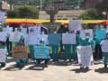 Internos de diferentes especialidades médicas realizan marcha en Andahuaylas