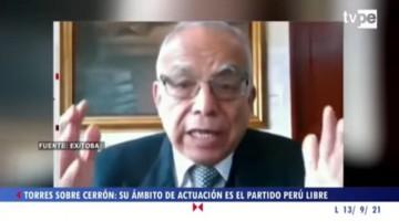 """Ministro Torres a Vladimir Cerrón: """"No te metas en el Gobierno"""""""