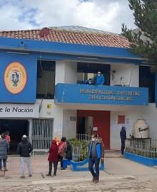 Cuatro trabajadores de municipio de Challhuahuacho fueron alcanzados por rayo en Tambulla