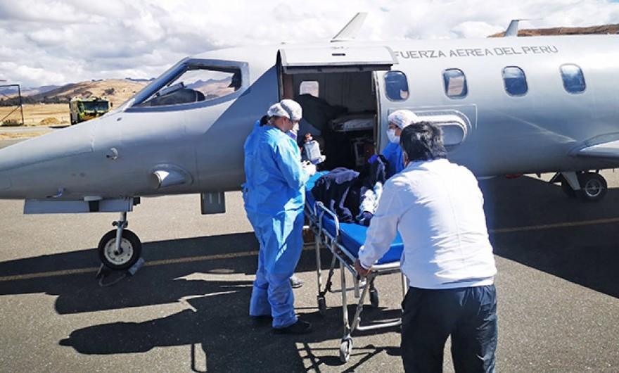 Menor de 5 años hospitalizado en UCI fue referido al Instituto del Niño en Lima