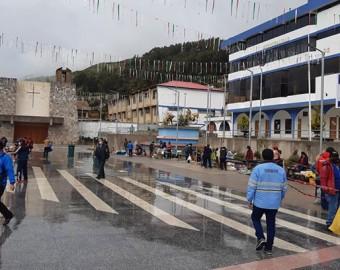 Chofer ebrio deja sin luz a media ciudad de Chuquibambilla