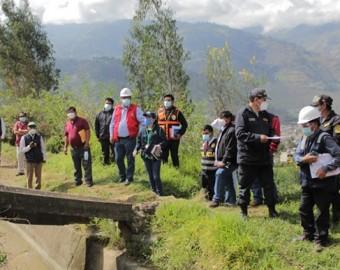 Regantes del canal Mariño dan plazo hasta el martes 18 de mayo a contratista china que ejecuta Vía de Evitamiento