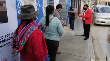 Arranca vacunación contra la Covid -19 con gran asistencia de personas de 30 años a más en Andahuaylas