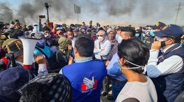 Ica: se suspendió el diálogo entre el Ejecutivo y trabajadores agrarios en cuarto día de protesta