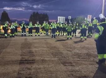 Trabajadores de Minera Las Bambas exigen reducción de jornada de trabajo