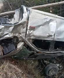 Ayacucho: tres policías fallecen tras despiste de camioneta
