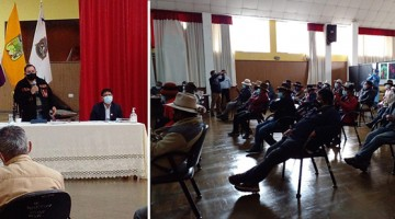 Criadores de camélidos levantan medida de fuerza tras llegar a varios acuerdos con Región