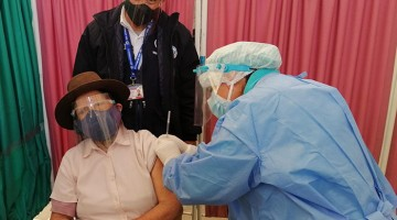 Andahuaylas: adultos mayores reciben segunda dosis de la vacuna contra el covid-19