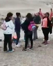 Tacna: Policía halla a 21 venezolanos extraviados en el desierto cuando iban hacia Chile